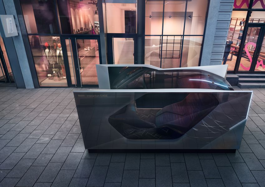 BMW i Interaction EASE concept shown at CES 2020 – elements from design study to be in production iNEXT Image #1066816