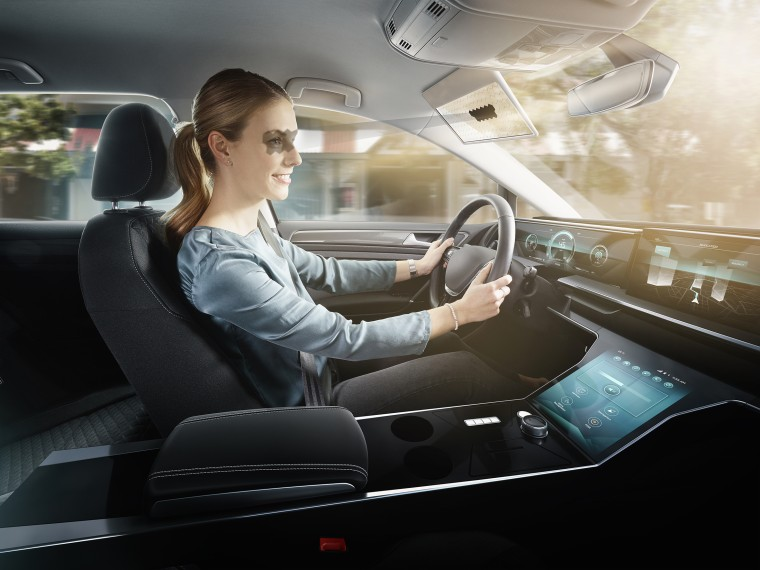 Bosch showcases Virtual Visor concept at CES 2020 Image #1065313