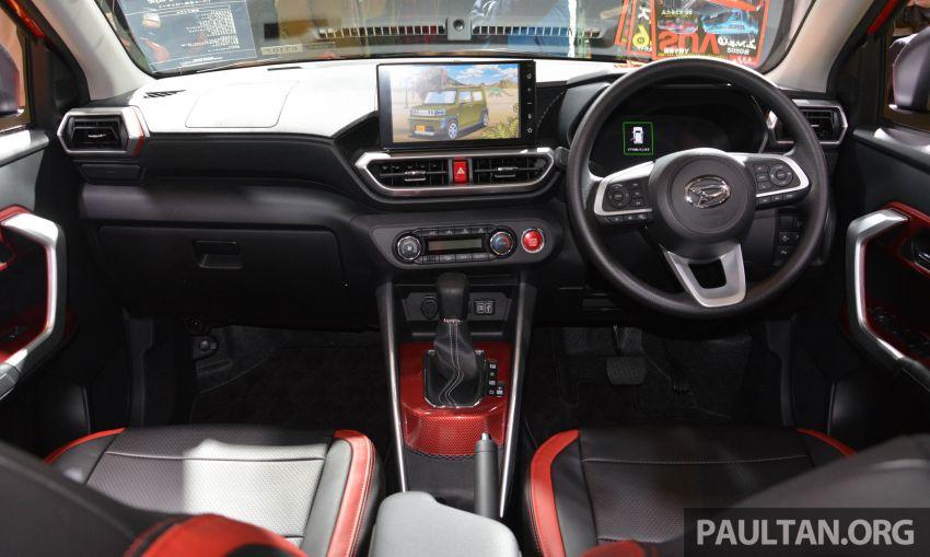TAS2020: Daihatsu Rocky Sporty Style dipamerkan Image #1068492