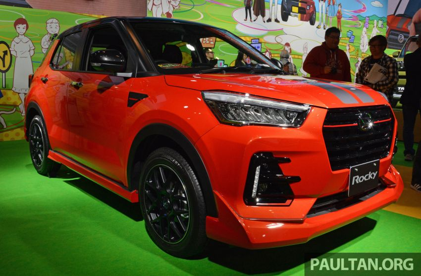TAS 2020: Daihatsu Rocky Sporty Style bodykit – can Perodua GearUp do better than this for the D55L? Image #1068626