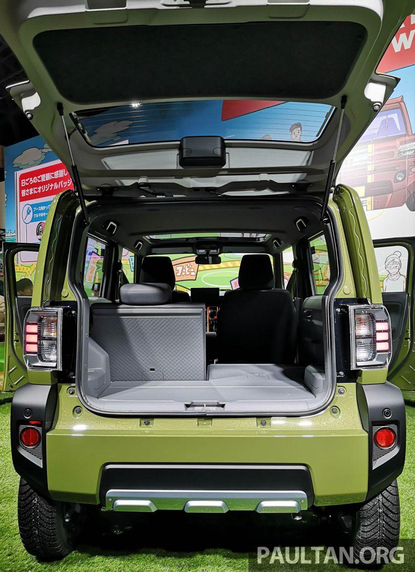 TAS 2020: Daihatsu Taft Concept previews <em>kei</em> SUV Image #1071063