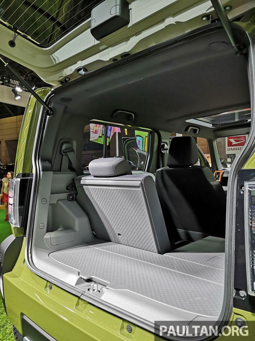 TAS 2020: Daihatsu Taft Concept previews <em>kei</em> SUV Image #1071067