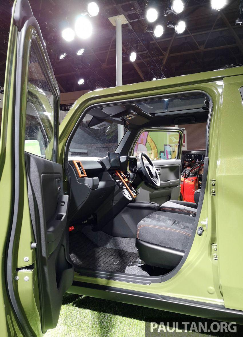 TAS 2020: Daihatsu Taft Concept previews <em>kei</em> SUV Image #1071069