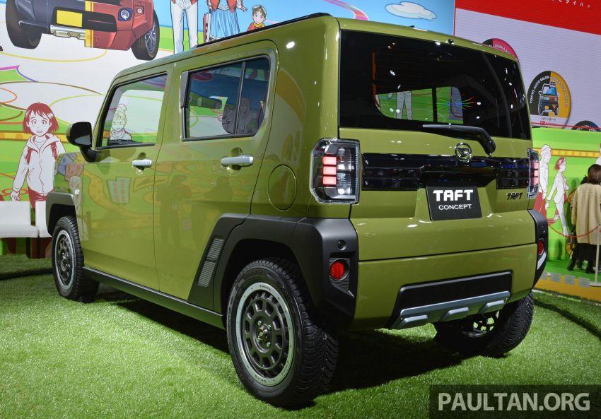 TAS 2020: Daihatsu Taft Concept previews <em>kei</em> SUV Image #1071058