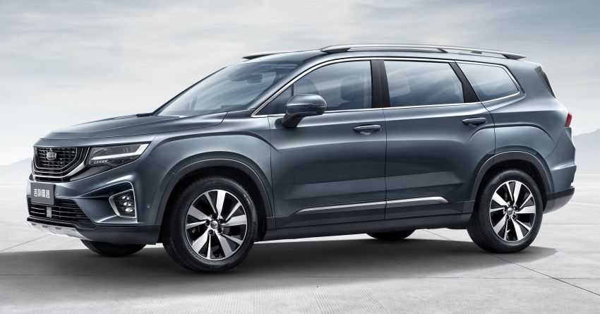Contact US >> Geely Haoyue: VX11 SUV named – 1.5T & 1.8T mills? Paul Tan - Image 1069401