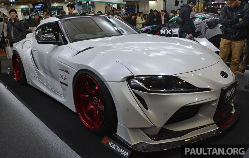 TAS 2020: A90 Toyota GR Supra left, right and centre Image #1073382