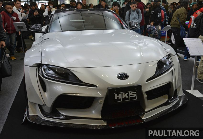TAS 2020: A90 Toyota GR Supra left, right and centre Image #1073391