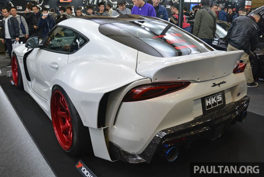TAS 2020: A90 Toyota GR Supra left, right and centre Image #1073383
