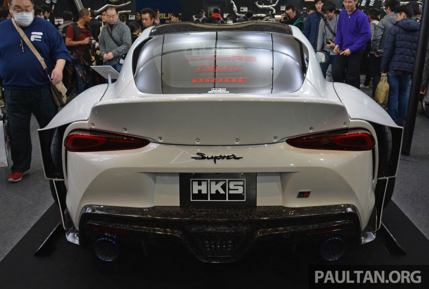 TAS 2020: A90 Toyota GR Supra left, right and centre Image #1073384