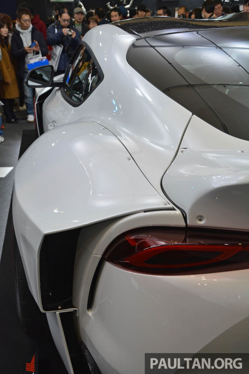 TAS 2020: A90 Toyota GR Supra left, right and centre Image #1073385