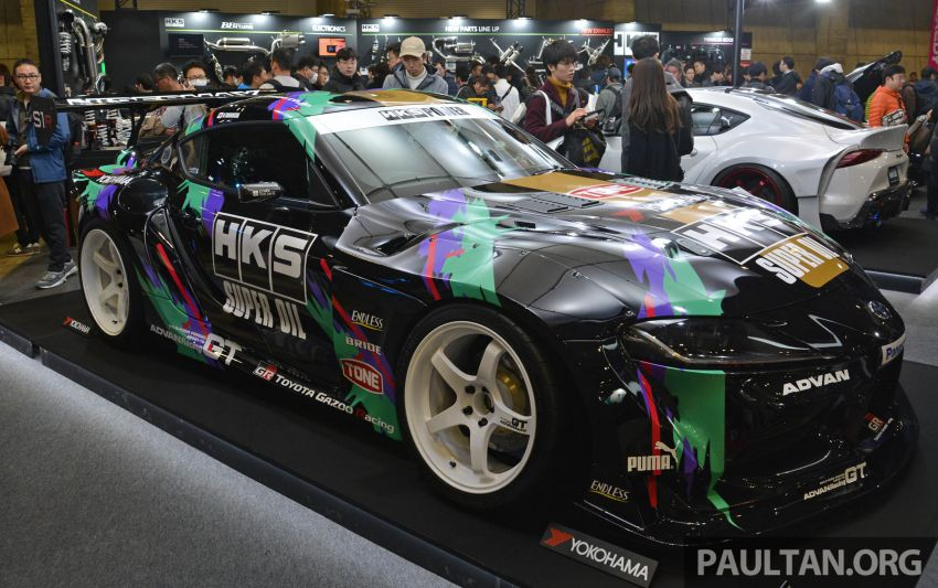TAS 2020: A90 Toyota GR Supra left, right and centre Image #1073401