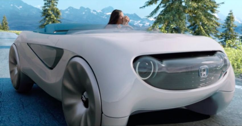 Honda Augmented Driving Concept – reinventing the steering wheel for varying autonomous driving modes Image #1066687