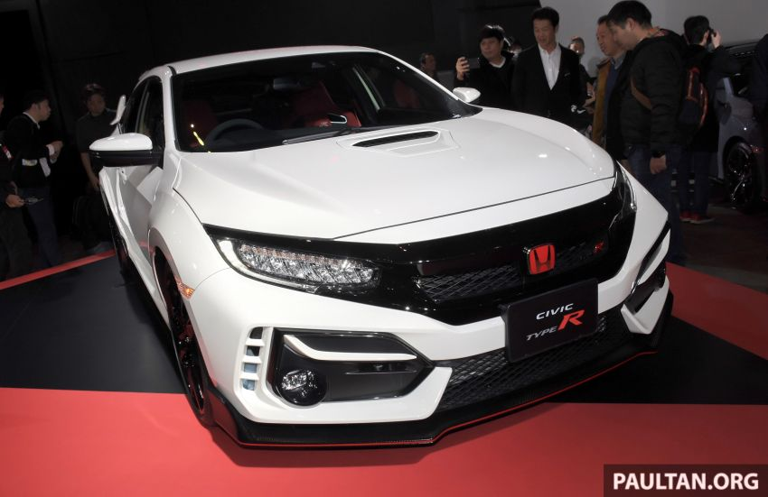 FK8 Honda Civic Type R facelift debuts at 2020 Tokyo Auto Salon – uprated cooling, braking and chassis Image #1067979