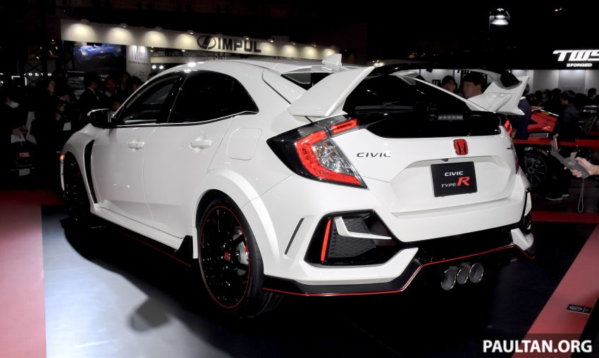 FK8 Honda Civic Type R facelift debuts at 2020 Tokyo Auto Salon – uprated cooling, braking and chassis Image #1067985