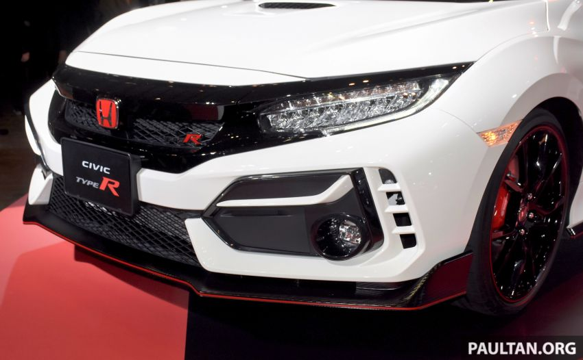 FK8 Honda Civic Type R facelift debuts at 2020 Tokyo Auto Salon – uprated cooling, braking and chassis Image #1067964