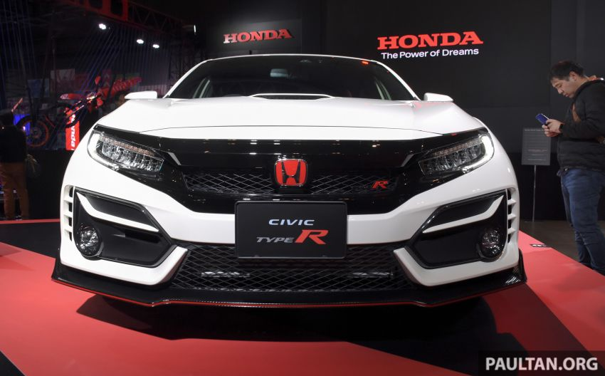 FK8 Honda Civic Type R facelift debuts at 2020 Tokyo Auto Salon – uprated cooling, braking and chassis Image #1067967