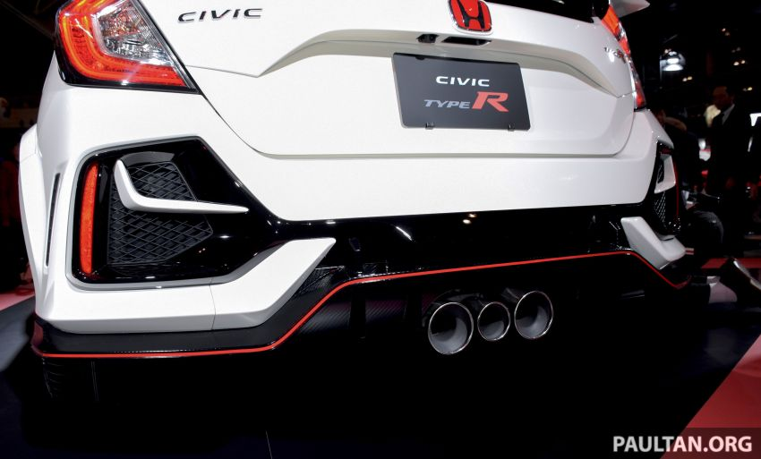 FK8 Honda Civic Type R facelift debuts at 2020 Tokyo Auto Salon – uprated cooling, braking and chassis Image #1067974