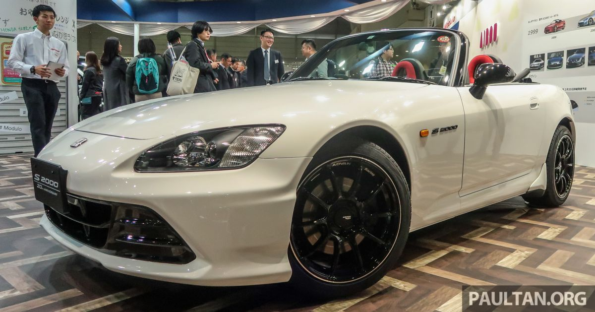 tas 2020 honda s2000 20th anniversary prototype