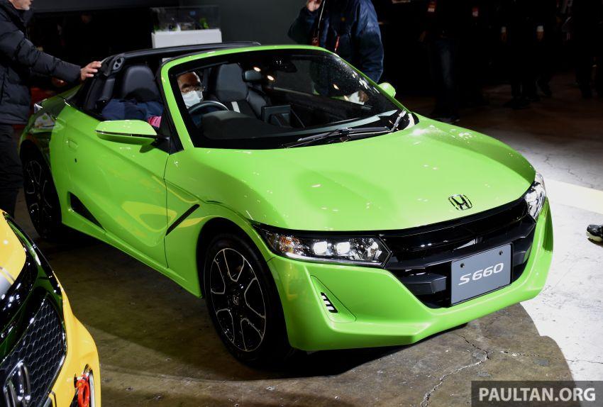 TAS 2020: Facelifted Honda S660 sports car debuts Image #1068734
