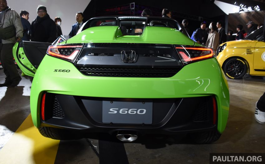 TAS 2020: Facelifted Honda S660 sports car debuts Image #1068747