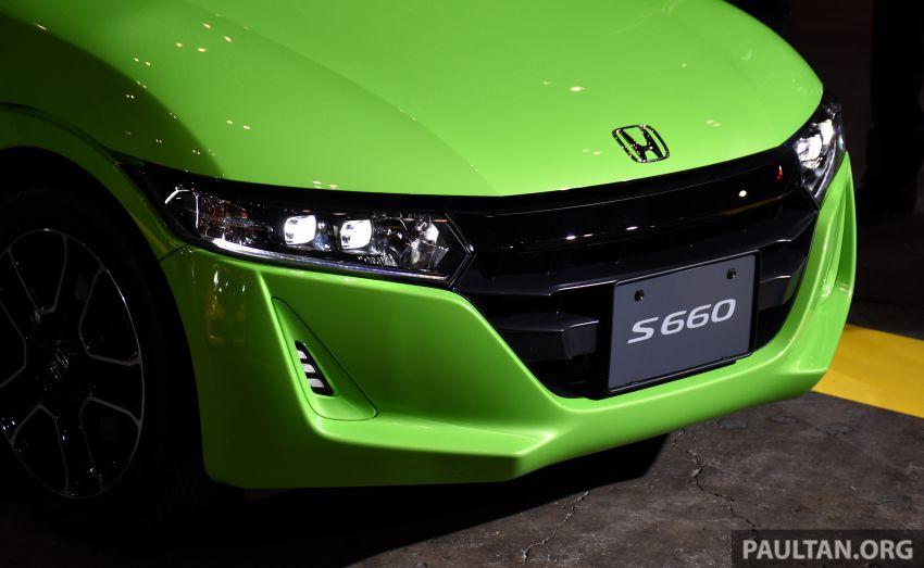 TAS 2020: Facelifted Honda S660 sports car debuts Image #1068736