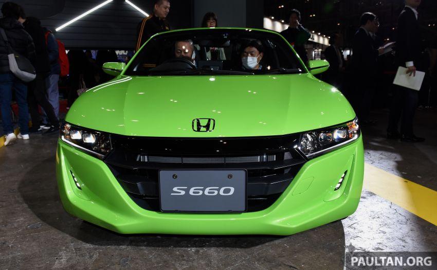 TAS 2020: Facelifted Honda S660 sports car debuts Image #1068742