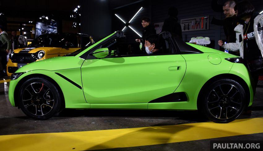 TAS 2020: Facelifted Honda S660 sports car debuts Image #1068743