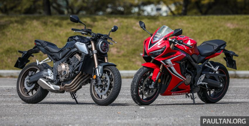 REVIEW: 2019 Honda CBR650R and CB650R – inline-four middleweights for every rider, from RM43,999 Image #1071301