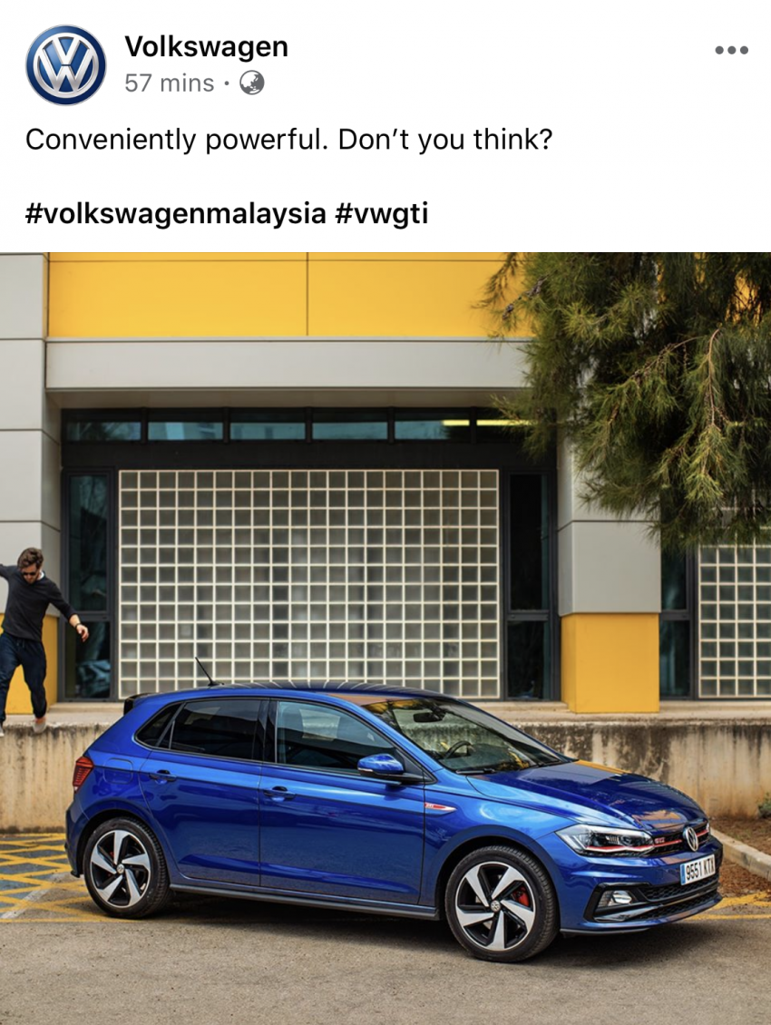 Mk6 Volkswagen Polo on FB, IG – coming to M'sia? Image #1065654
