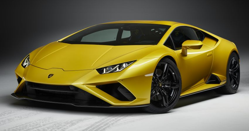 Lamborghini Huracán Evo RWD revealed – facelift gets 610 PS to rear wheels, plus new traction control Image #1065370