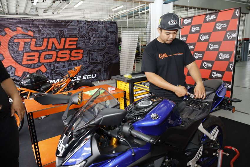 TuneBoss ECU from Malaysia – ride experience at SIC Image #1069891