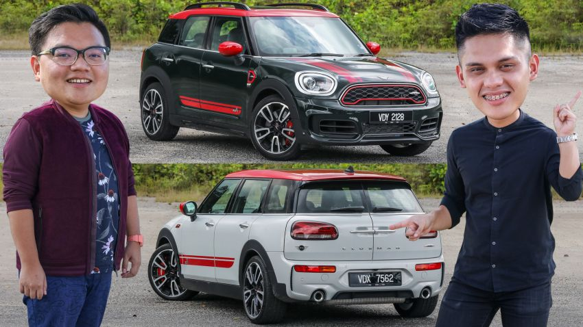 FIRST DRIVE: 2020 MINI John Cooper Works Clubman and Countryman Malaysian review – from RM359k Image #1067163