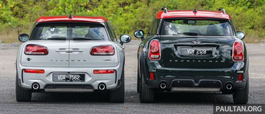FIRST DRIVE: 2020 MINI John Cooper Works Clubman and Countryman Malaysian review – from RM359k Image #1067175