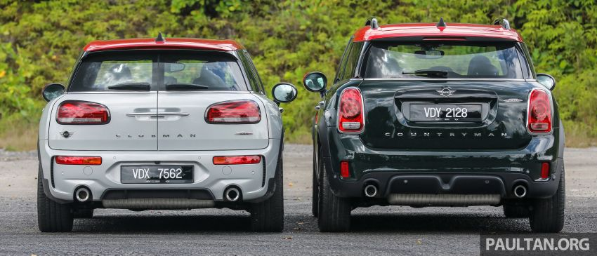 FIRST DRIVE: 2020 MINI John Cooper Works Clubman and Countryman Malaysian review – from RM359k Image #1067176