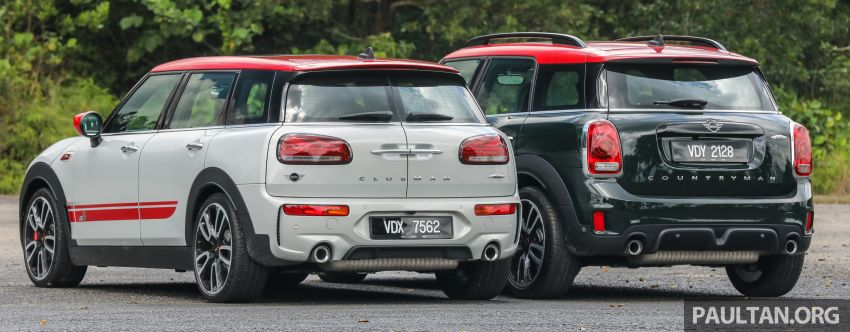 FIRST DRIVE: 2020 MINI John Cooper Works Clubman and Countryman Malaysian review – from RM359k Image #1067172