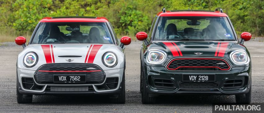 FIRST DRIVE: 2020 MINI John Cooper Works Clubman and Countryman Malaysian review – from RM359k Image #1067173