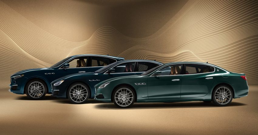 Maserati Royale Quattroporte, Levante and Ghibli – special edition trio launched, limited to 100 units only Image #1069718