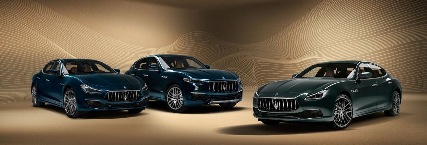 Maserati Royale Quattroporte, Levante and Ghibli – special edition trio launched, limited to 100 units only Image #1069721