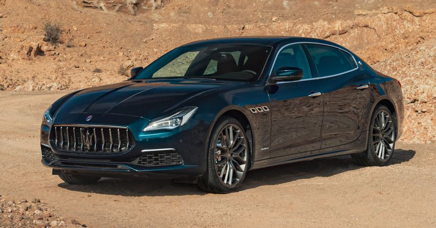 Maserati Royale Quattroporte, Levante and Ghibli – special edition trio launched, limited to 100 units only Image #1069724