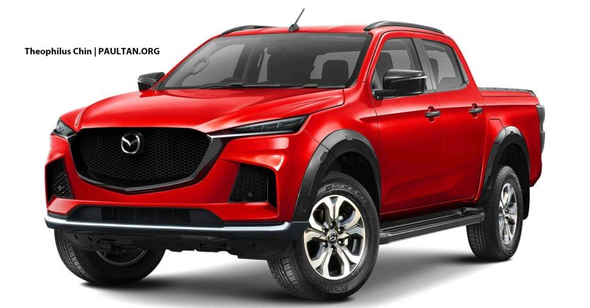 Next-gen Mazda BT-50 to get completed Isuzu D-Max as base, but promises more masculine Kodo design Image #1067410