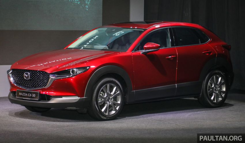 2020 Mazda CX-30 officially launched in Malaysia – three CBU variants; AEB and MRCC; from RM143k Image #1070106