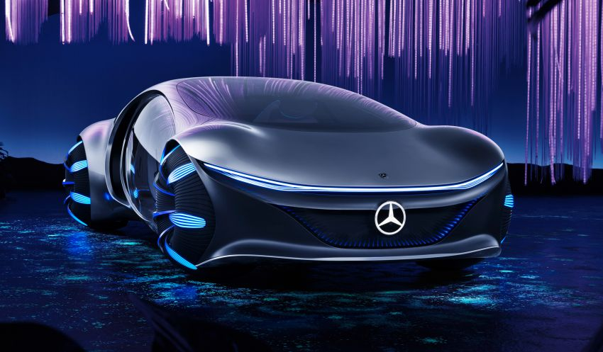 Mercedes-Benz Vision AVTR debuts at CES – <em>Avatar</em>-inspired concept offers a sci-fi glimpse of the future Image #1065745