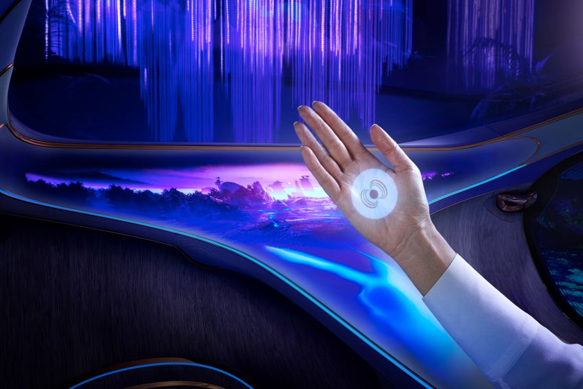 Mercedes-Benz Vision AVTR debuts at CES – <em>Avatar</em>-inspired concept offers a sci-fi glimpse of the future Image #1065754