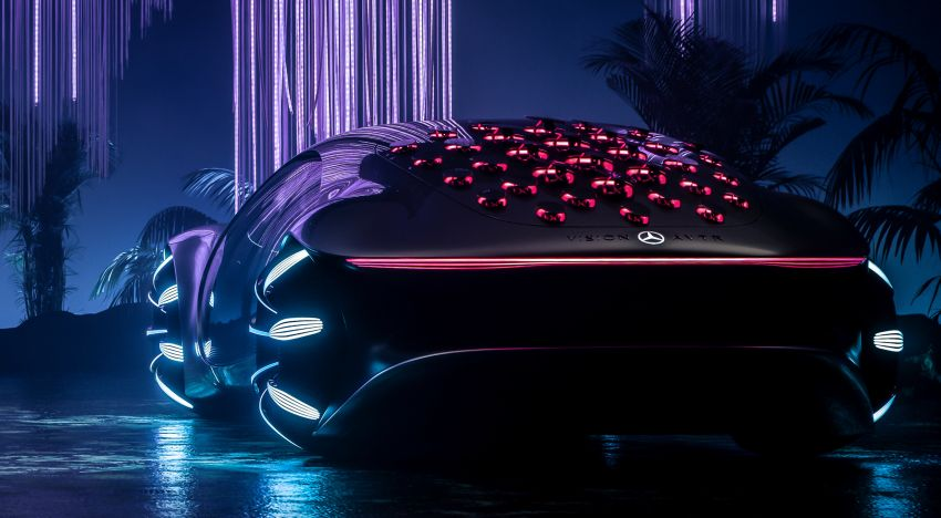 Mercedes-Benz Vision AVTR debuts at CES – <em>Avatar</em>-inspired concept offers a sci-fi glimpse of the future Image #1065773