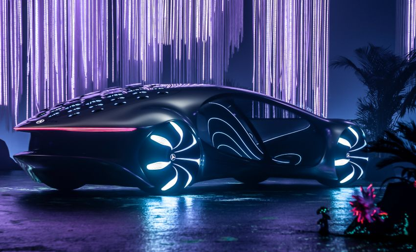 Mercedes-Benz Vision AVTR debuts at CES – <em>Avatar</em>-inspired concept offers a sci-fi glimpse of the future Image #1065774