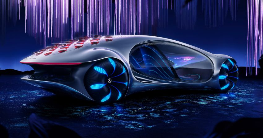 Mercedes-Benz Vision AVTR debuts at CES – <em>Avatar</em>-inspired concept offers a sci-fi glimpse of the future Image #1065746
