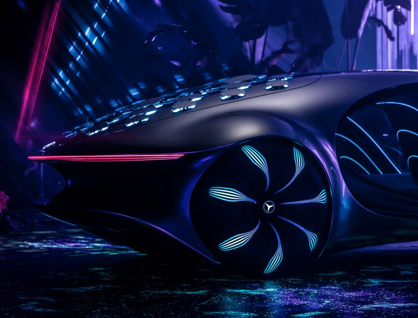 Mercedes-Benz Vision AVTR debuts at CES – <em>Avatar</em>-inspired concept offers a sci-fi glimpse of the future Image #1065775