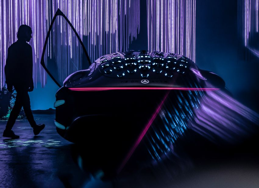 Mercedes-Benz Vision AVTR debuts at CES – <em>Avatar</em>-inspired concept offers a sci-fi glimpse of the future Image #1065777