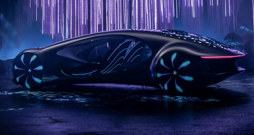 Mercedes-Benz Vision AVTR debuts at CES – <em>Avatar</em>-inspired concept offers a sci-fi glimpse of the future Image #1065778