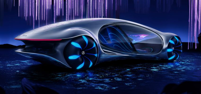 Mercedes-Benz Vision AVTR debuts at CES – <em>Avatar</em>-inspired concept offers a sci-fi glimpse of the future Image #1065747
